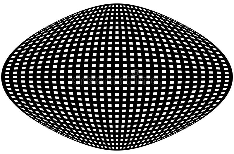 Download Решетка, картина сетки с искажением абстрактная геометрическая картина Иллюстрация вектора - иллюстрации насчитывающей динамически, хитроумного: 81803470