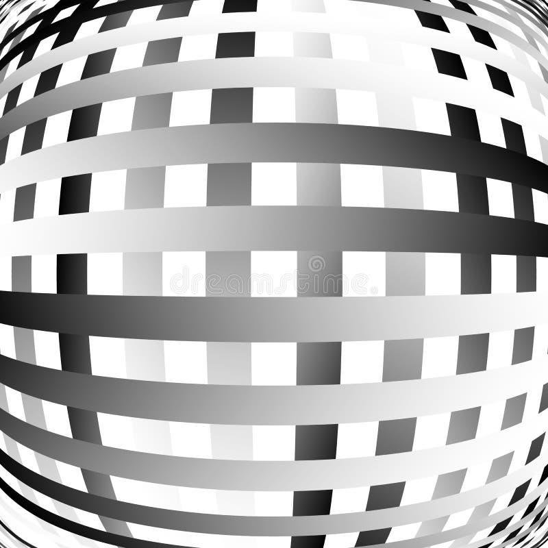 Download Решетка, картина сетки с искажением абстрактная геометрическая картина Иллюстрация вектора - иллюстрации насчитывающей разносторонне, свободно: 81803476
