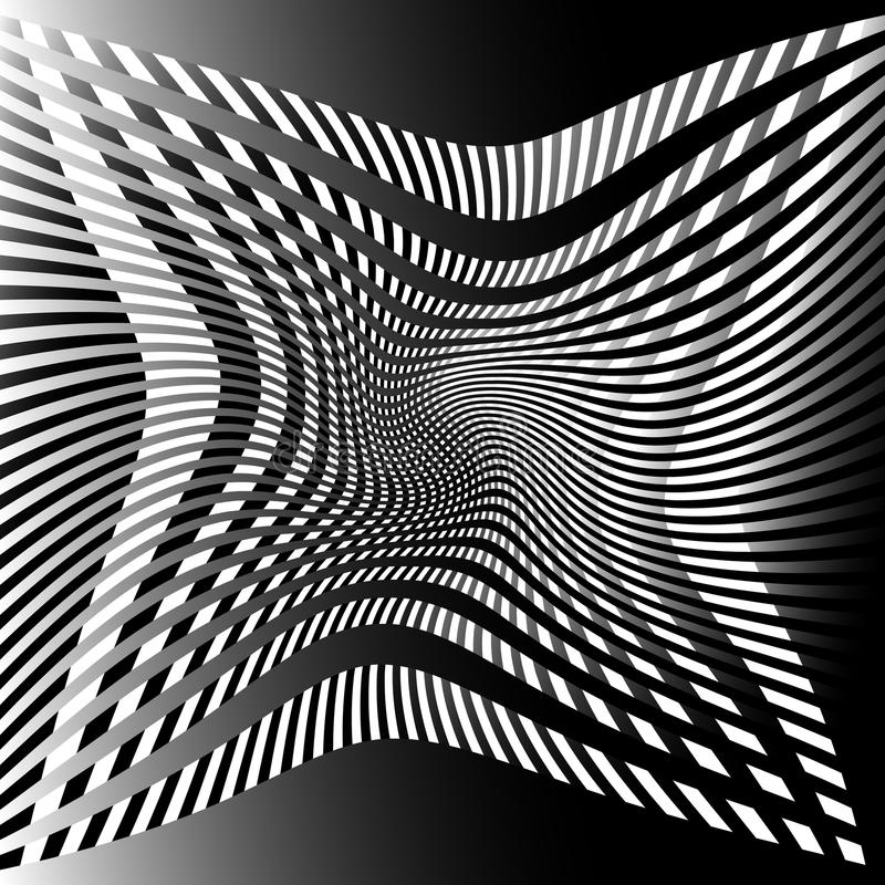 Download Решетка, картина сетки с искажением абстрактная геометрическая картина Иллюстрация вектора - иллюстрации насчитывающей сетка, линии: 81803730