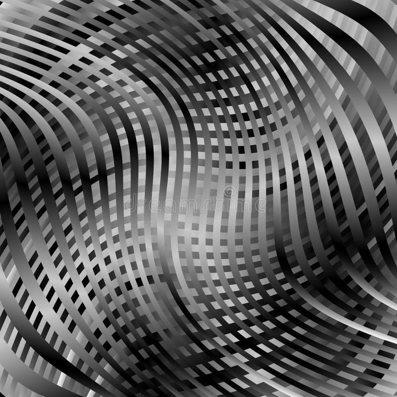 Download Решетка, картина сетки с искажением абстрактная геометрическая картина Иллюстрация вектора - иллюстрации насчитывающей сетка, искажение: 81803976