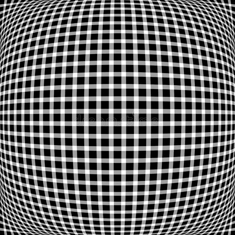 Download Решетка, мозаика квадратов с различными эффектами искажения R Иллюстрация вектора - иллюстрации насчитывающей скачками, график: 81803429