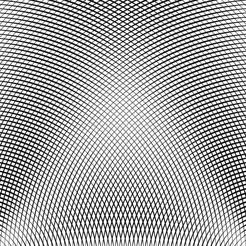Download Решетка, сетка линий с динамическим эффектом искажения Геометрическое PA Иллюстрация вектора - иллюстрации насчитывающей reticulate, картина: 81803073