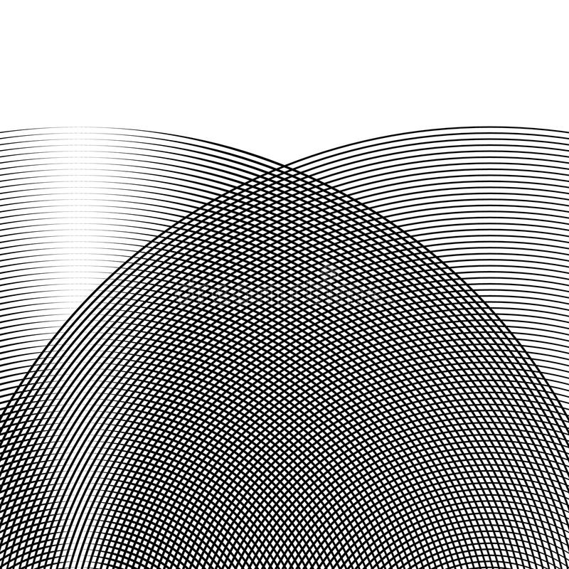 Download Решетка, сетка линий с динамическим эффектом искажения Геометрическое PA Иллюстрация вектора - иллюстрации насчитывающей минимально, разносторонне: 81803933