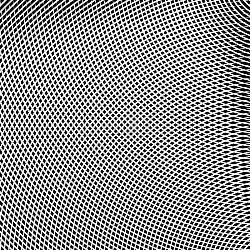 Download Решетка, сетка линий с динамическим эффектом искажения Геометрическое PA Иллюстрация вектора - иллюстрации насчитывающей динамизм, влияние: 81803942