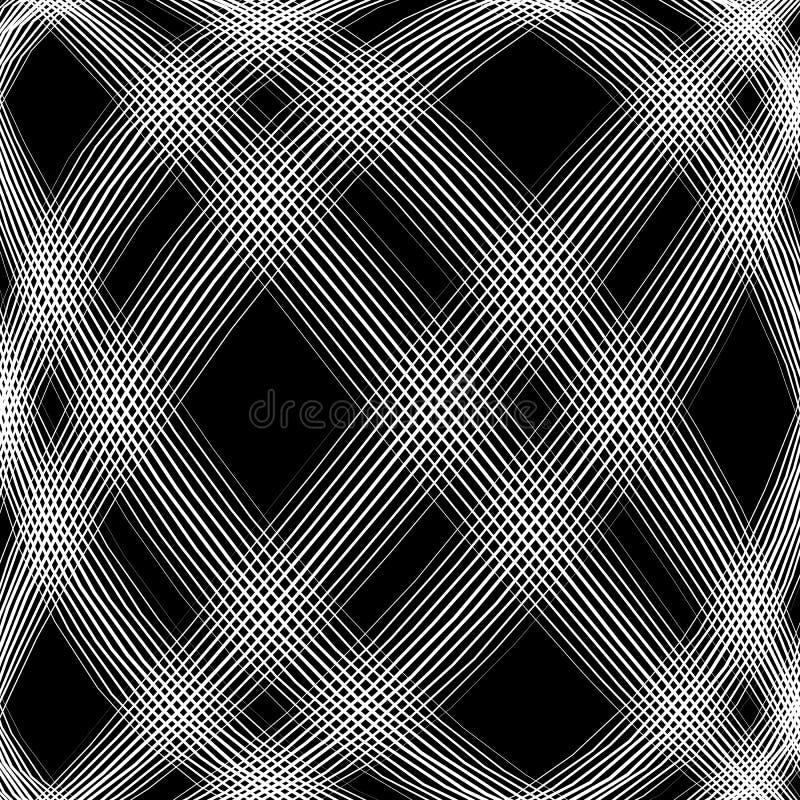 Download Решетка, сетка, пересекая выравнивает картину с выпуклым искажением L Иллюстрация вектора - иллюстрации насчитывающей свободно, линии: 81803332