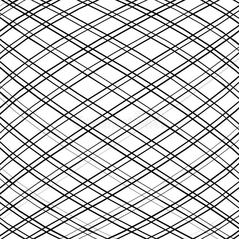 Download Решетка, сетка, пересекая выравнивает картину с выпуклым искажением L Иллюстрация вектора - иллюстрации насчитывающей минимально, protuberant: 81803333
