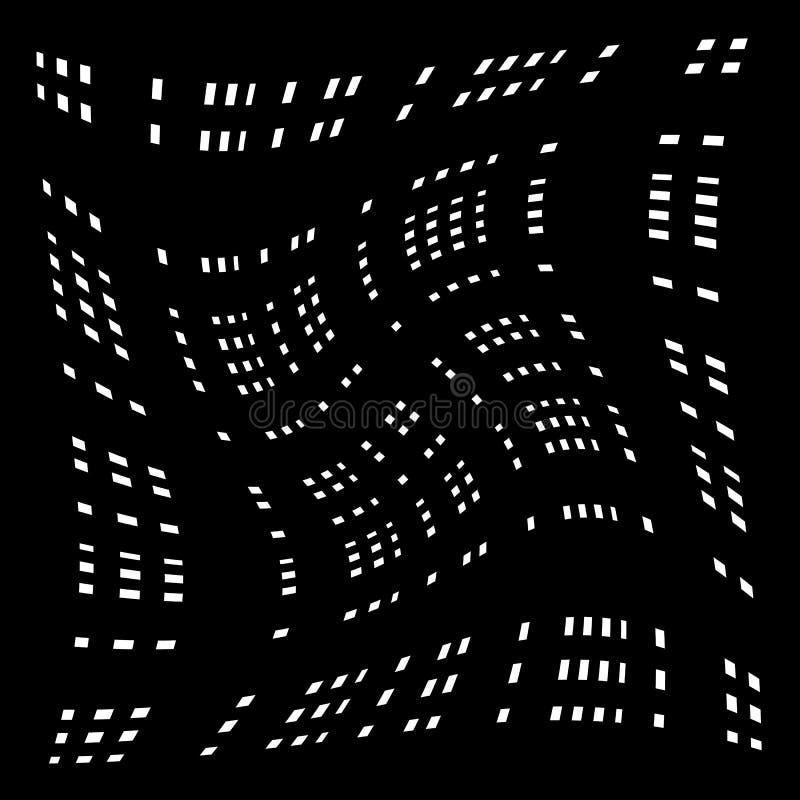 Download Решетка, сетка передернутых линий Геометрическая Monochrome текстура Иллюстрация вектора - иллюстрации насчитывающей свободно, конспектов: 81803762