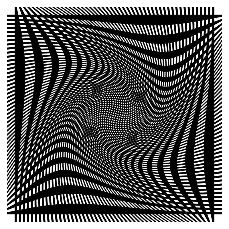 Download Решетка, сетка с деформацией, влиянием искривления - комплектом 2 слоев Иллюстрация вектора - иллюстрации насчитывающей скачками, геометрическо: 81804559