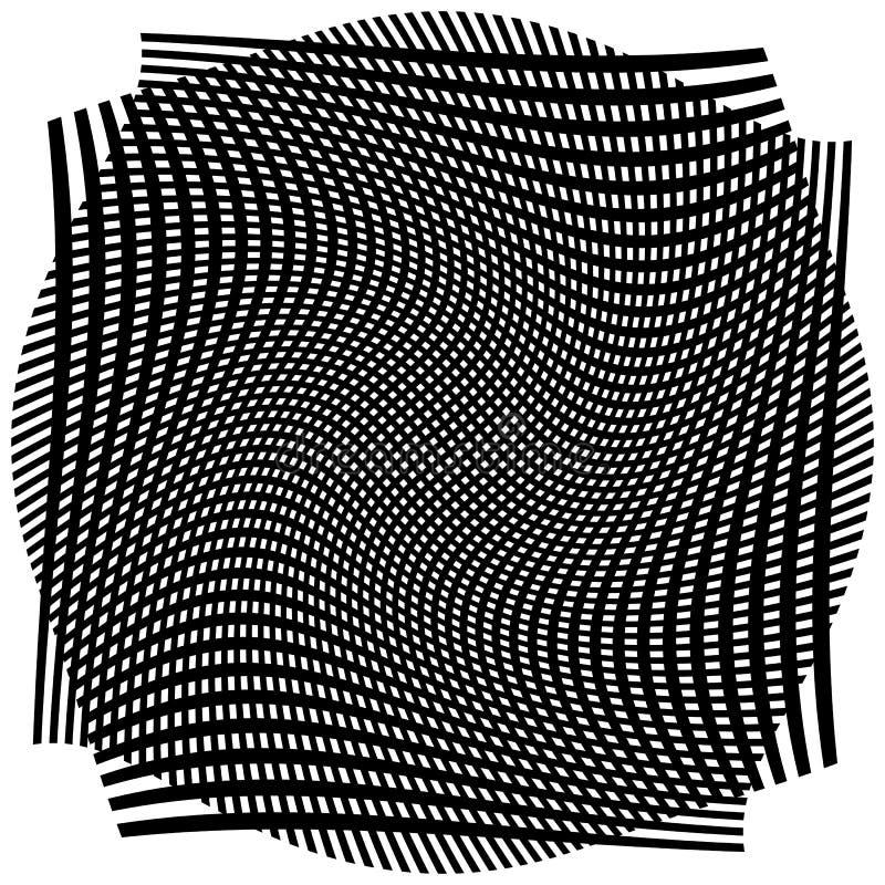 Download Решетка, сетка с деформацией, влиянием искривления - комплектом 2 слоев Иллюстрация вектора - иллюстрации насчитывающей деформируйте, разносторонне: 81804588