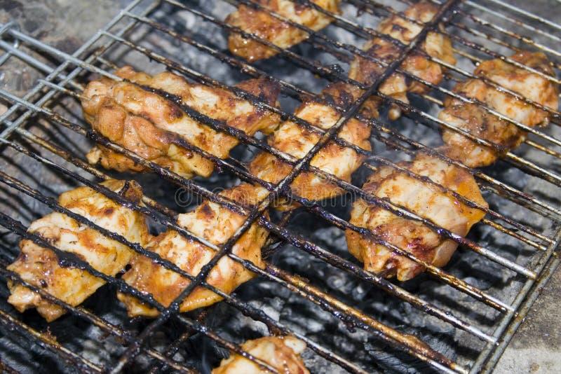 решетка цыпленка стоковое фото