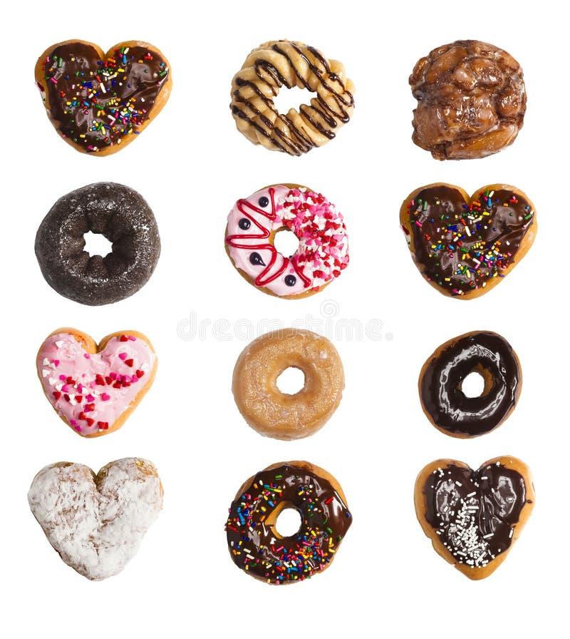 Решетка donuts стоковое изображение rf