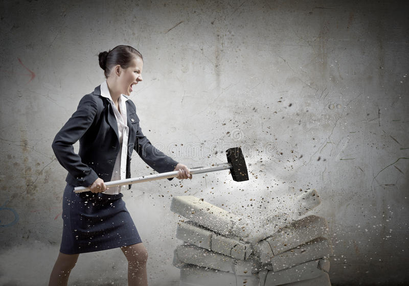 Download Решительно дама дела стоковое фото. изображение насчитывающей коммерсантка - 41650620