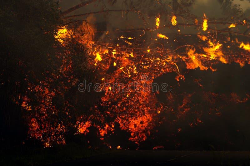 реюньон острова 3 извержений стоковое фото