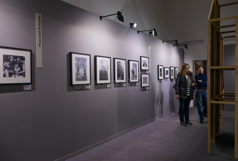 Редакционная выставка фото достижений народного хозяйства стоковое фото