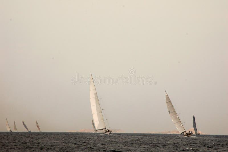 Редакционная макси чашка Rolex яхты стоковая фотография