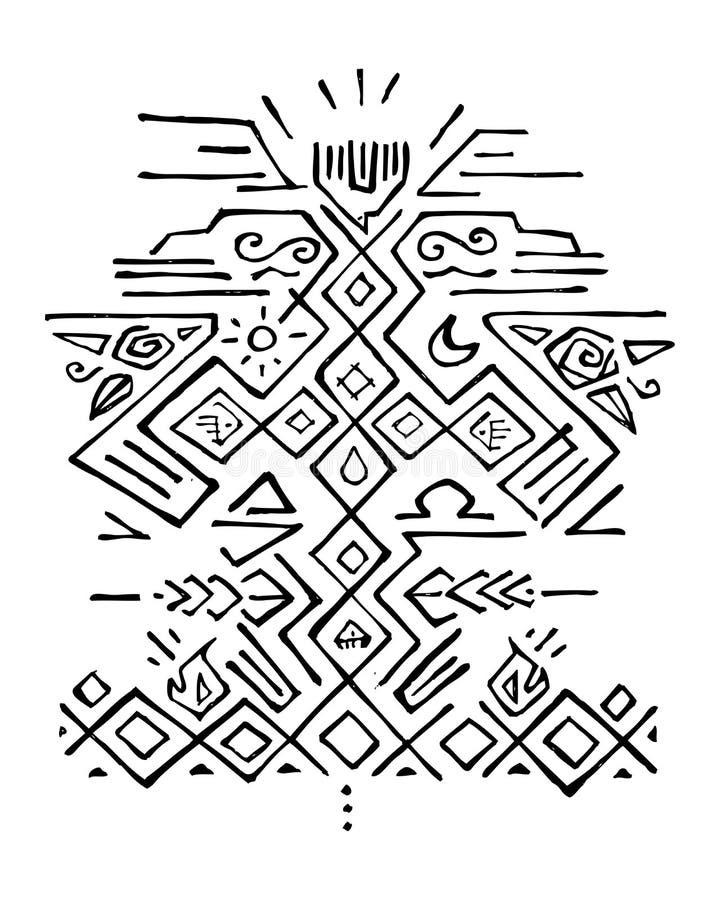 Религиозная иллюстрация символов бесплатная иллюстрация
