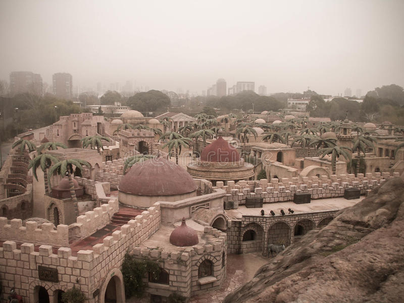 Религиозный тематический парк стоковые фотографии rf
