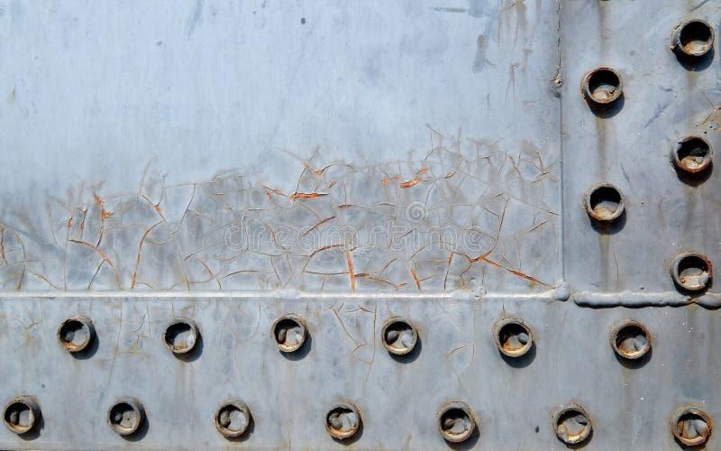 Ржавая предпосылка металла стоковые изображения