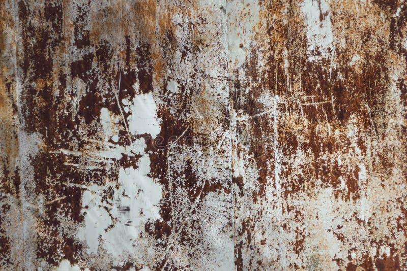 Ржавая предпосылка металла Старая текстура ржавчины стоковая фотография rf