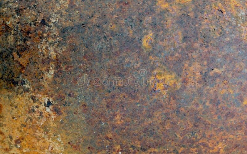 Ржавая предпосылка конспекта Grunge текстуры металла стоковые изображения rf