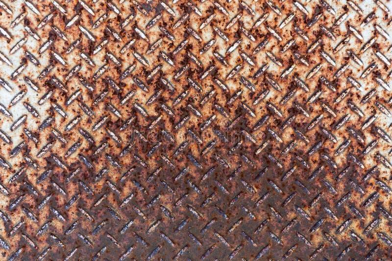 Ржавая предпосылка текстуры стального пола стоковое фото rf