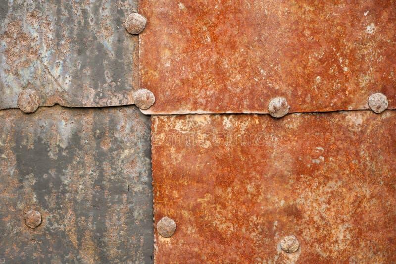 Ржавая предпосылка утюга красного цвета стоковые фотографии rf