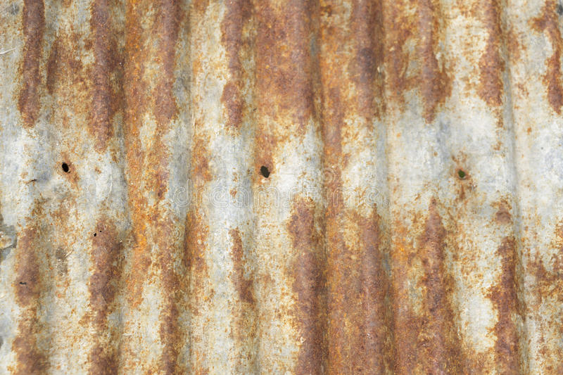 Ржавая рифлёная текстура толя металла стоковое фото rf