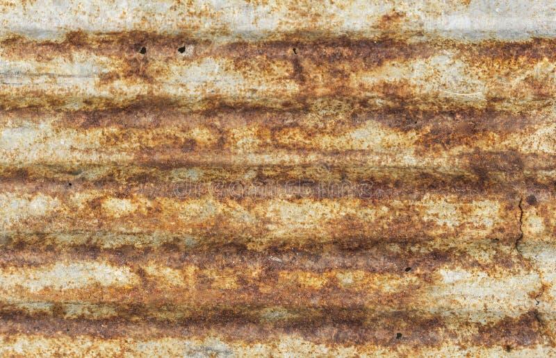 Ржавая рифлёная текстура толя металла бесплатная иллюстрация