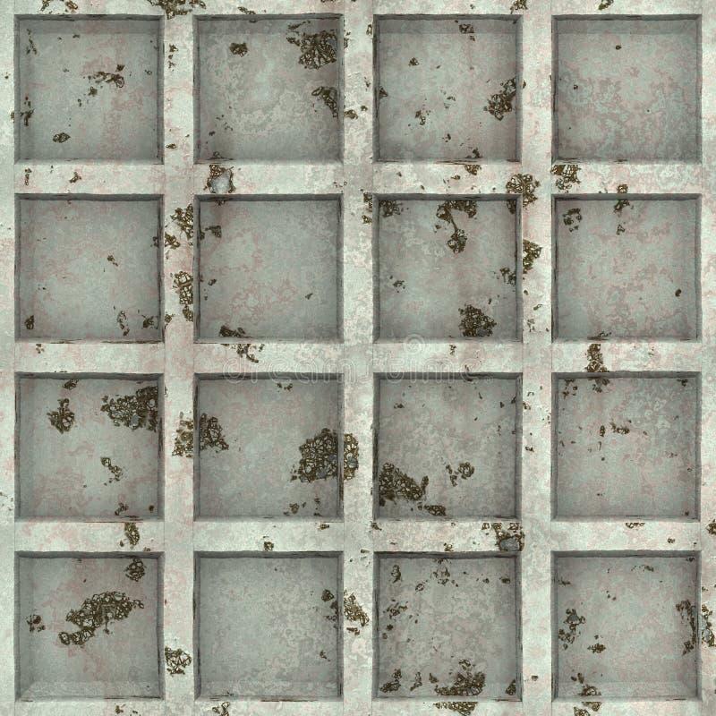 ржавое металла двери старое стоковое изображение