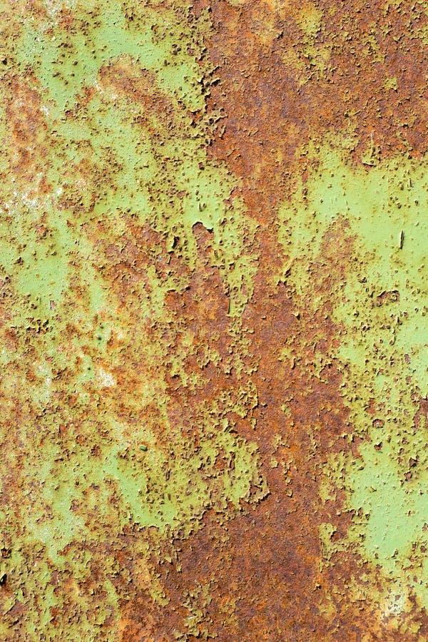 ржавчина на старой предпосылке стены стоковое изображение rf