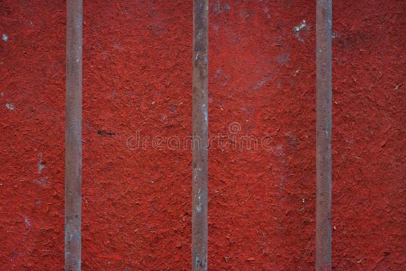 Ржавые железные перила стоковая фотография