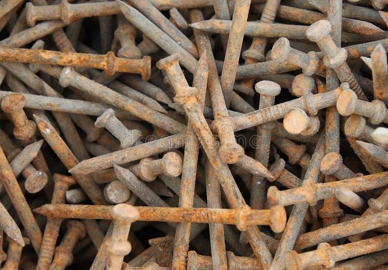 Ржавые ногти стоковые изображения