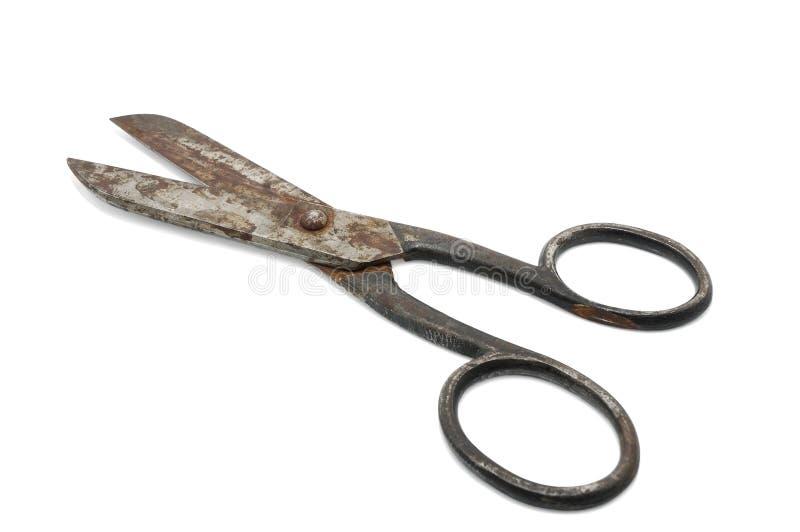 ржавые ножницы стоковое фото rf