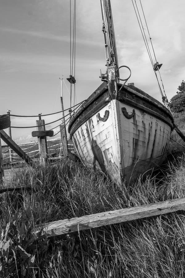 ржавый корабль стоковые фотографии rf