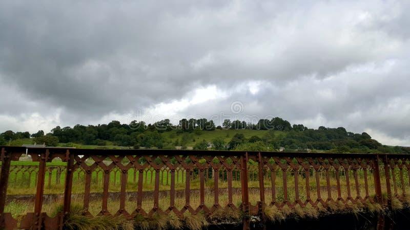 Ржавый мост стоковая фотография