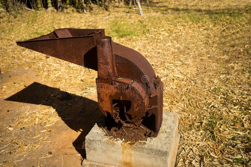 Ржавый точильщик стоковое изображение