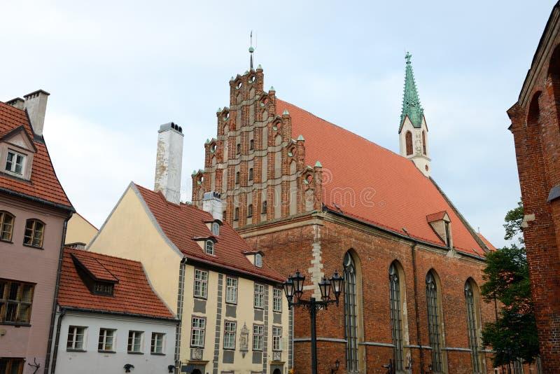 Download Рига, Латвия стоковое изображение. изображение насчитывающей история - 33735799