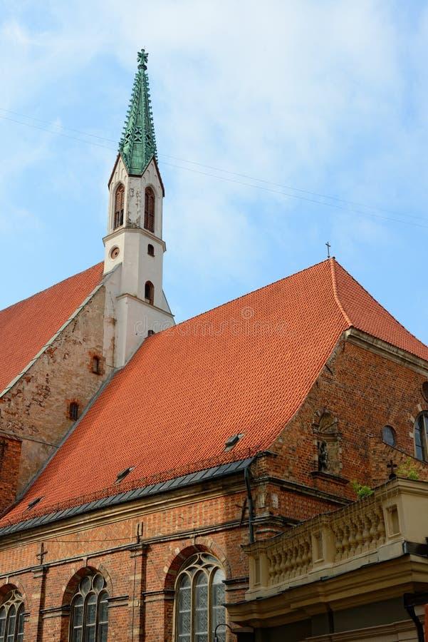 Download Рига, Латвия стоковое фото. изображение насчитывающей красно - 33736102