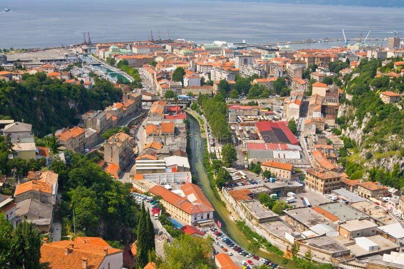 Риека, Хорватия стоковые изображения