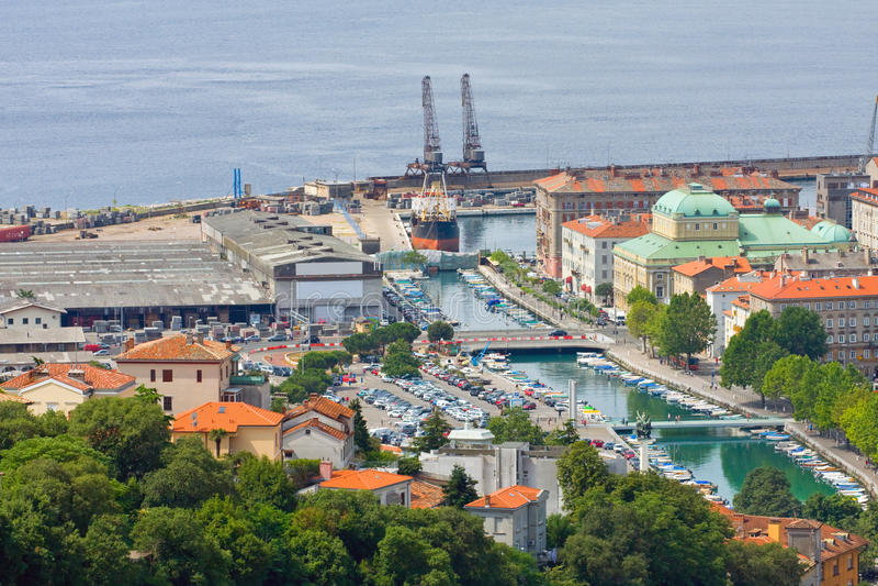 Риека, Хорватия стоковое фото