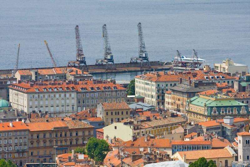 Риека, Хорватия стоковое изображение rf