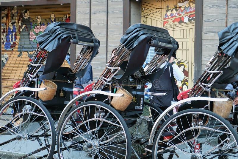 Рикша в токио стоковые изображения rf