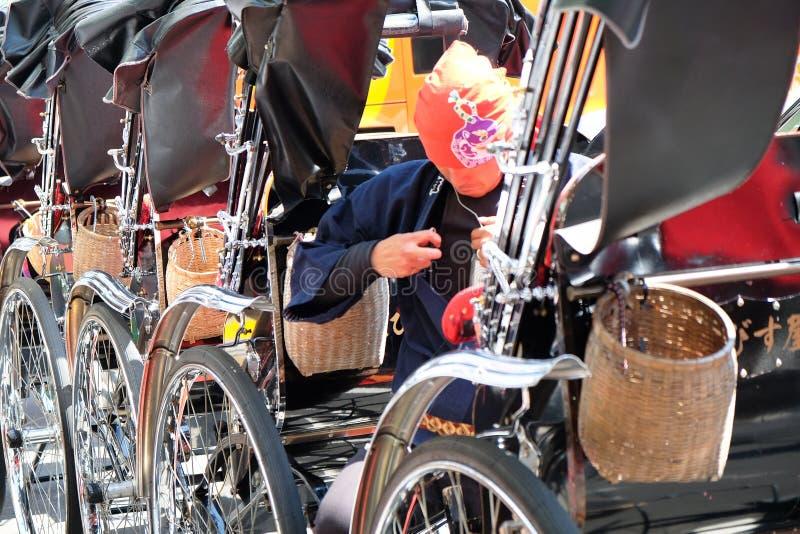 Рикша в токио стоковые фотографии rf
