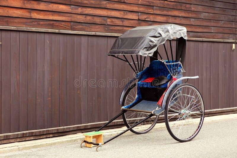 рикша японии стоковые фото