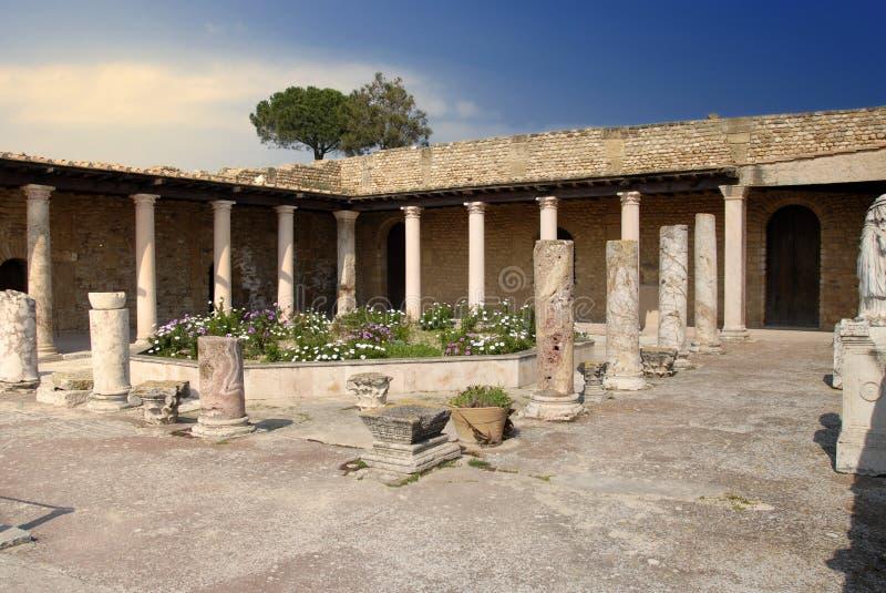 римская вилла стоковая фотография rf
