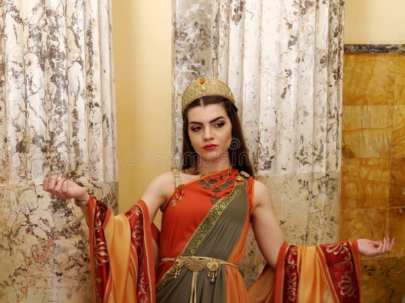 римская женщина стоковая фотография rf
