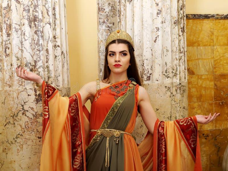 римская женщина стоковые фотографии rf