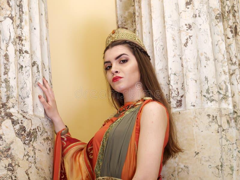 римская женщина стоковое изображение rf