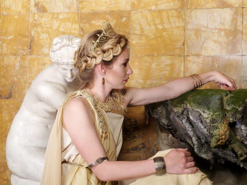римская женщина стоковые изображения rf
