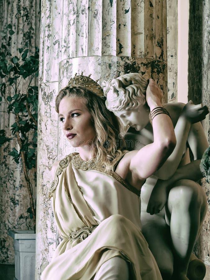 римская женщина стоковое фото